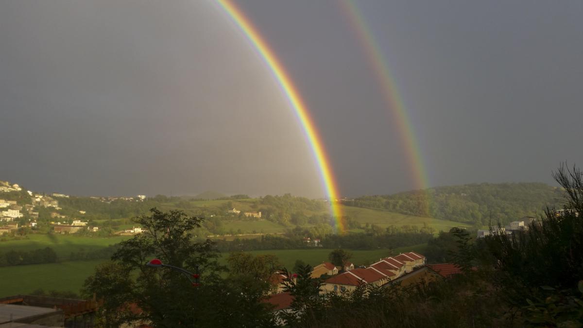 Double Rainbow !